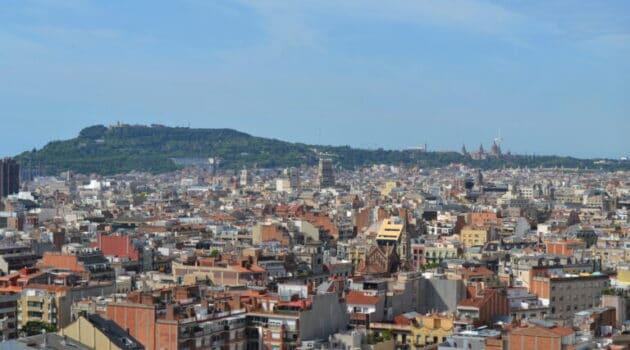 Bydele i Barcelona