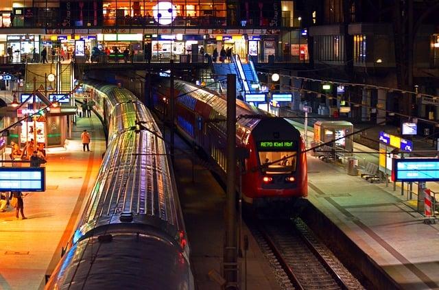 Hamborg togstation