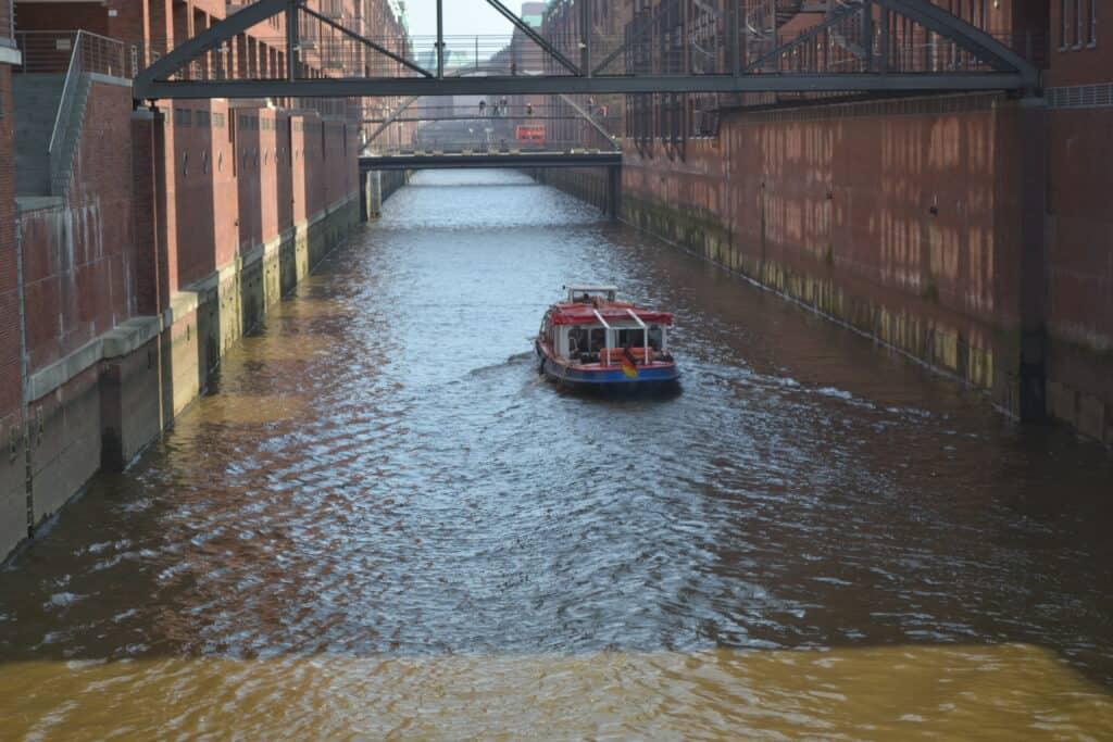 Seværdigheder i hamborg, kanalrundtfart