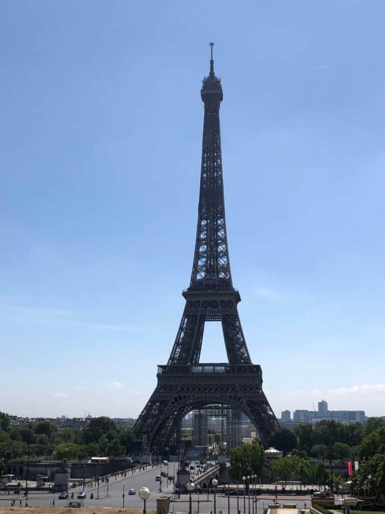 Eiffeltårnet Palais De Chaillot