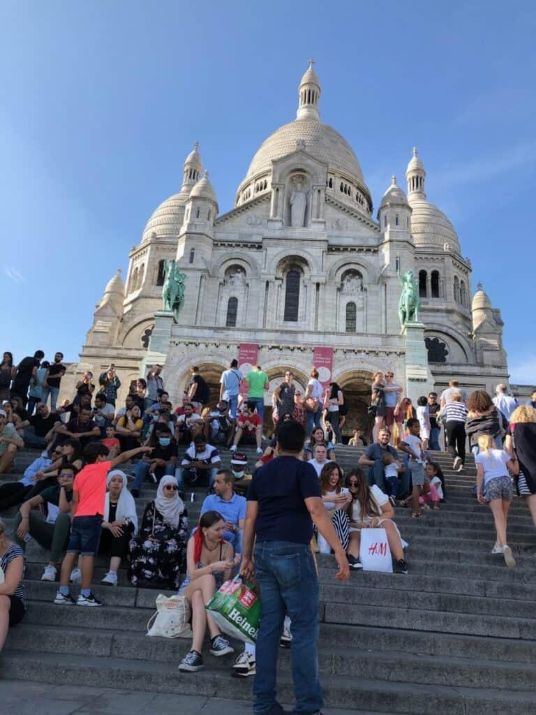 sacre-Coeur i Paris