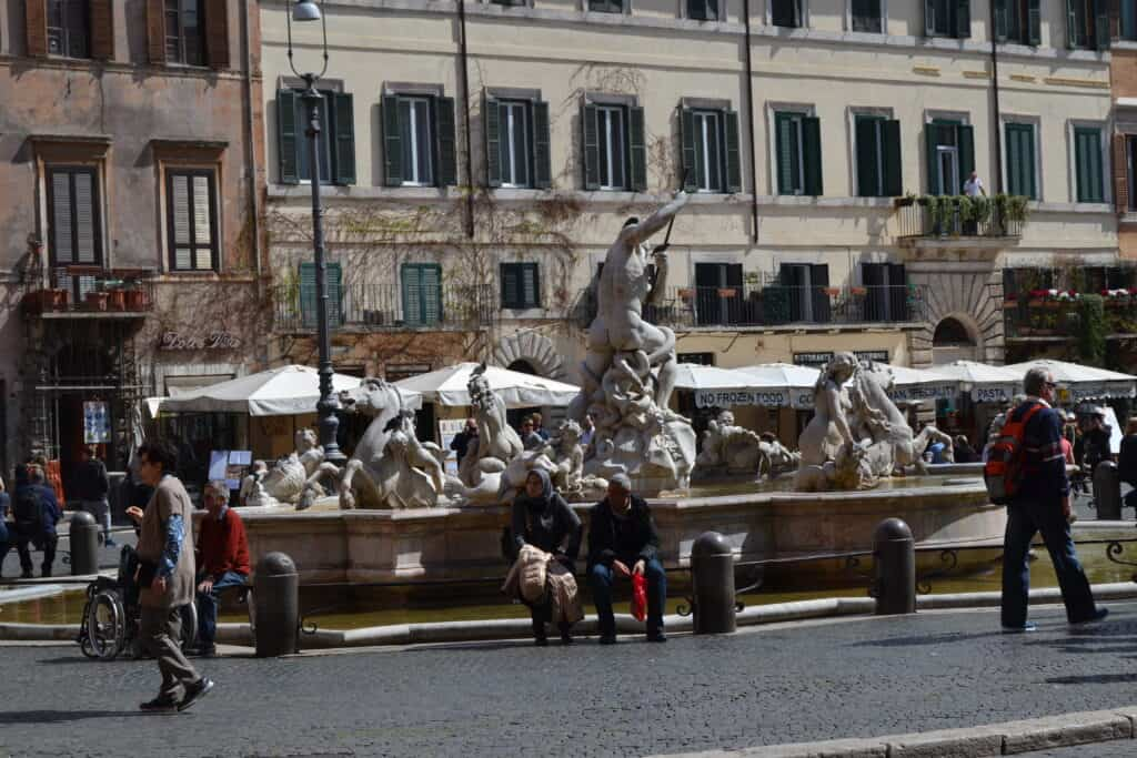 Fontæne piazza navona rom