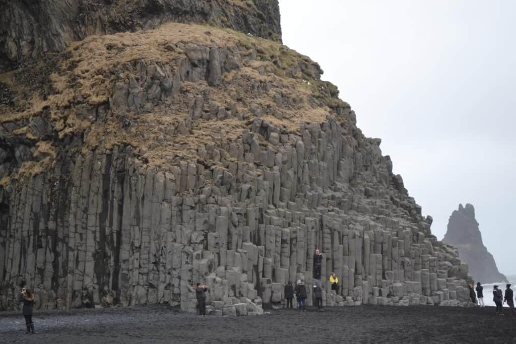 klipper ved Reynisfjara beach