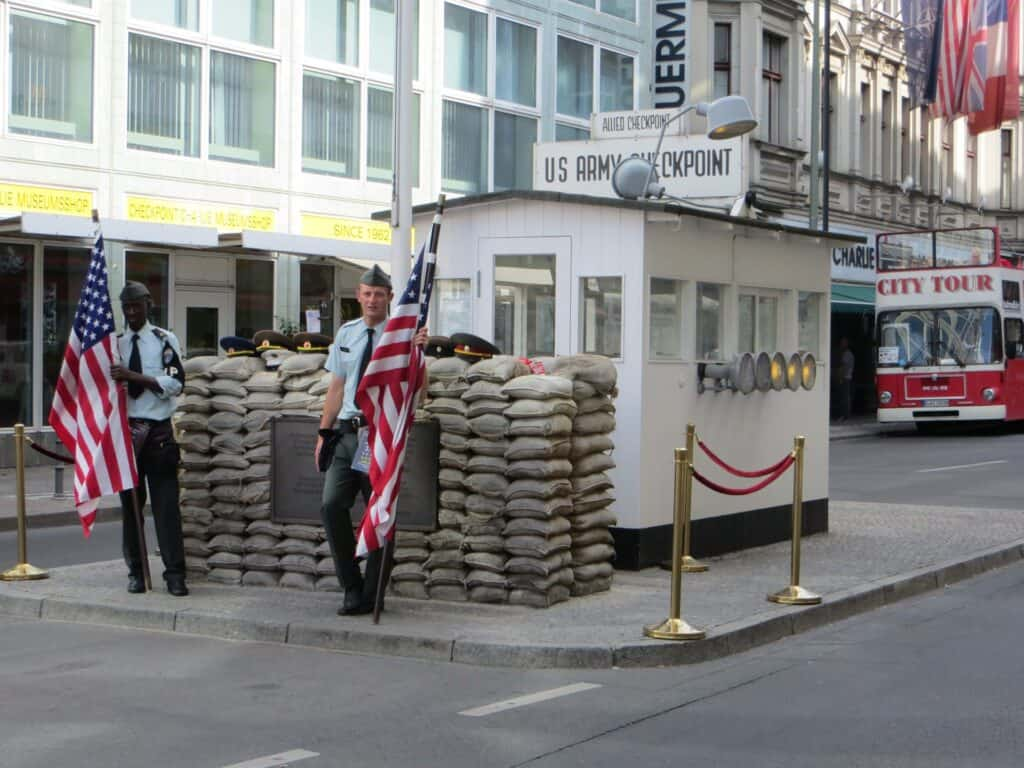 check point Charlie berlin