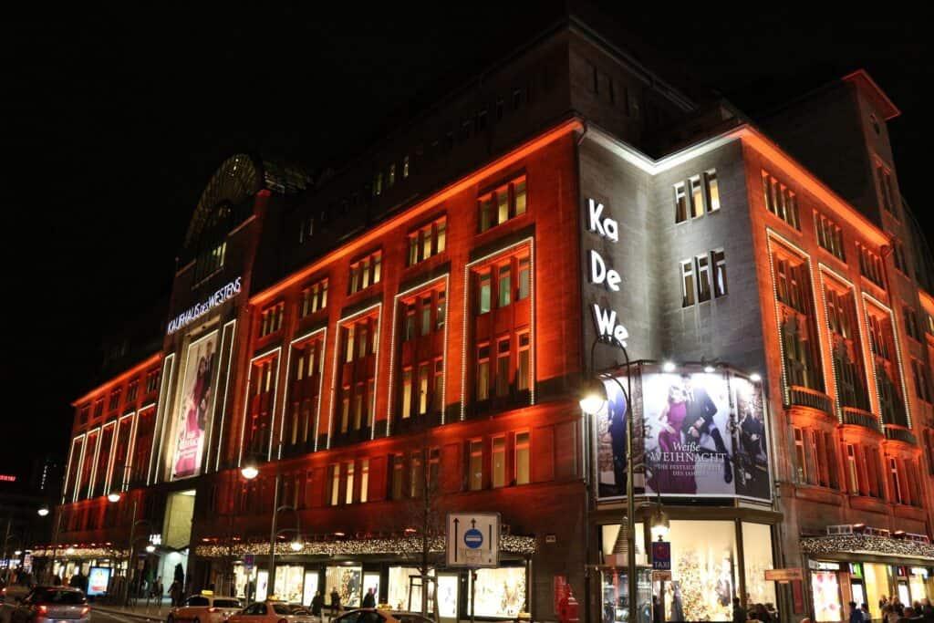 kadewe shopping berlin