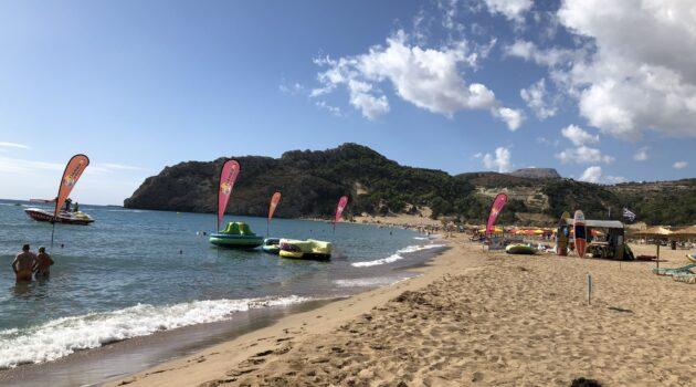 tsampika beach